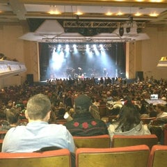 Photo taken at Thomas Wolfe Auditorium by Chad G. on 10/30/2011