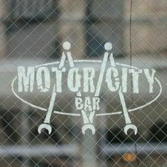 Photo taken at Motor City Bar by Lisa G. on 8/23/2011