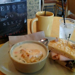 Photo taken at Panera Bread by Valarie W. on 3/12/2012
