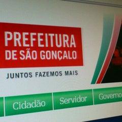 Photo taken at Prefeitura Municipal de São Gonçalo by Rafael N. on 1/20/2012