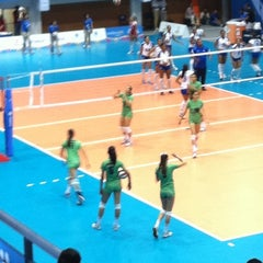 Photo taken at Complejo Panamericano de Voleibol by Eva T. on 10/19/2011