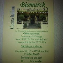 Photo taken at Ristorante Bismarck by Moritz T. on 2/14/2012