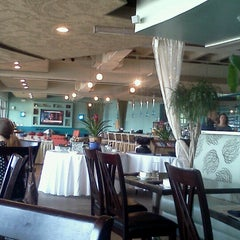 Photo taken at Blu Restaurant & Bar by Rachel R. on 7/25/2012