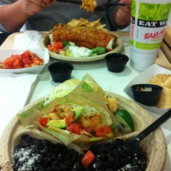 Photo taken at Baja Fresh by Anna Liza R. on 4/3/2012