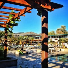 Photo taken at Calistoga Spa Hot Springs by Peter S. on 9/9/2012