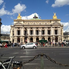 Photo taken at Place de l'Opéra by Cyril R. on 8/28/2012