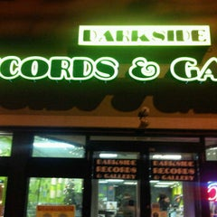 Photo taken at Darkside Records and Gallery by Fenny N. on 12/29/2011