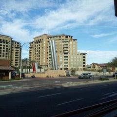 Photo taken at Soleri Bridge & Plaza by Rosario S. on 1/20/2012
