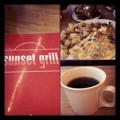 Photo taken at Sunset Grill by Audunn J. on 2/2/2012