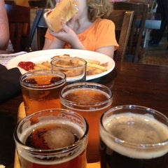 Photo taken at Liberty Steakhouse & Brewery by Phil Y. on 5/27/2012
