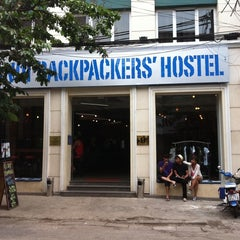 Photo taken at Hanoi Backpackers Hostel by Geena A. on 5/20/2011