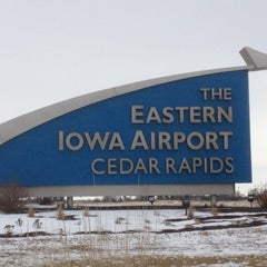 Photo taken at The Eastern Iowa Airport (CID) by Ron A. on 3/4/2012