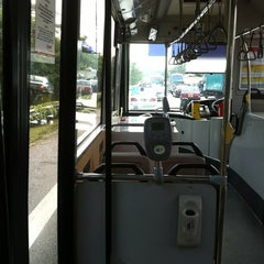 Photo taken at SMRT Buses: Bus 858 by Satish S. on 9/15/2011