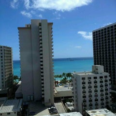 Photo taken at Hyatt Place Waikiki Beach by Leila P. on 6/22/2012