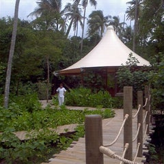 Photo taken at Six Senses Spa by Namfa Y. on 9/9/2011