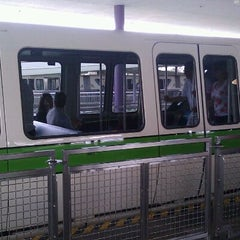 Photo taken at Monorail Green by Michael J. on 2/5/2012