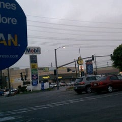 Photo taken at Mobil by Julio A. on 9/28/2011