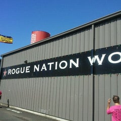 Photo taken at Rogue Brewers on the Bay by Mary V. on 9/25/2011
