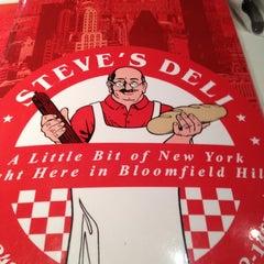 Photo taken at Steve's Deli by Andrew S. on 3/30/2012