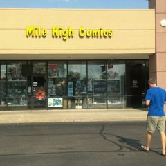 Photo taken at Mile High Comics by Benjamin S. on 8/7/2012