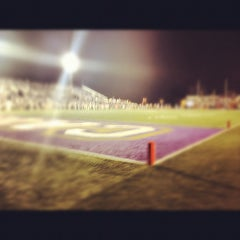 Photo taken at Bob Waters Field at E.J. Whitmire Stadium by Aaron M. on 8/31/2012