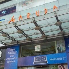 Photo taken at Garuda Mall by Sougata K. on 4/23/2011