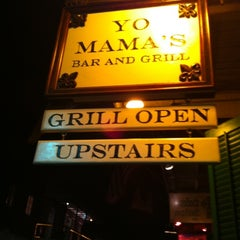 Photo taken at Yo Mama's Bar & Grill by Kyle H. on 8/28/2011