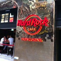 Photo taken at Hard Rock Café Hong Kong by Wh Y. on 5/2/2011