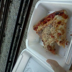 Photo taken at J.B. Alberto's Pizza by Bob K. on 10/4/2011