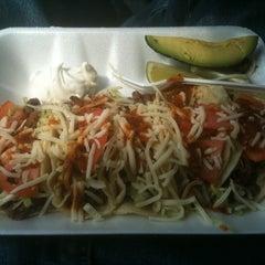 Photo taken at El Charrito Taco Truck by Jordan B. on 5/12/2011