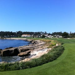 Photo taken at Pebble Beach Golf Links by Tao L. on 11/3/2011