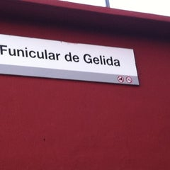 Photo taken at Funicular de Gelida: Estació Superior by Ricard F. on 8/19/2011