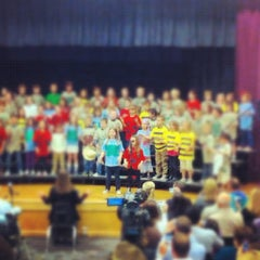 Photo taken at Desert Canyon Middle School by Brandon Z. on 3/1/2012
