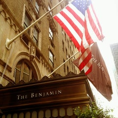 Photo taken at The Benjamin by Tadinda Seyahat on 8/25/2012