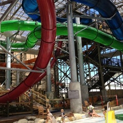 Photo taken at Jay Peak Pump House Waterpark by Christine F. on 7/20/2012