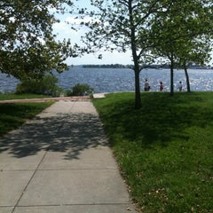 Photo taken at Canton Waterfront Park by Kerch M. on 8/5/2012
