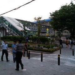 Photo taken at 구로디지털단지역 (Guro Digital Complex Stn.) by taejoong k. on 6/13/2012