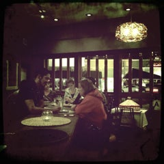 Photo taken at Bayu's Authentic Ethiopian Cuisine by Brent A. on 4/1/2012