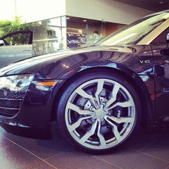 Photo taken at Audi North Houston by Matt C. on 3/4/2012