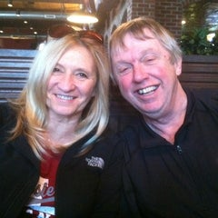 Photo taken at Half Moon Restaurant & Brewery by Ruth E. on 2/25/2012