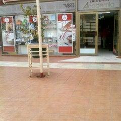 Photo taken at Librería La Academia by Rene A. on 8/10/2012