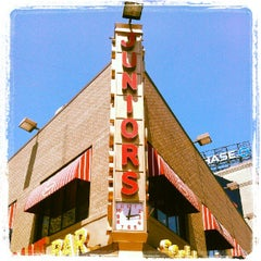 Photo taken at Junior's Restaurant by Anthony L. on 7/10/2012