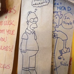 Photo taken at Which Wich? Superior Sandwiches by Chris B. on 3/6/2012