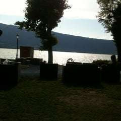 Photo taken at Palace Beach by Klergad on 7/25/2012
