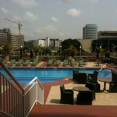 Photo taken at Holiday Inn Accra Airport Hotel by Harold A. on 3/9/2012