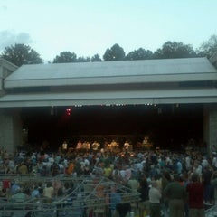 Photo taken at Chastain Park Amphitheater by Bill G. on 8/27/2012