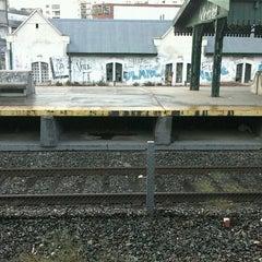 Photo taken at Estación Lanús [Línea Roca] by Majo B. on 6/6/2012