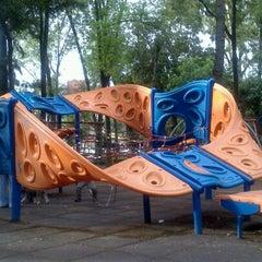 Photo taken at Parque Arboledas by Ale C. on 8/17/2012