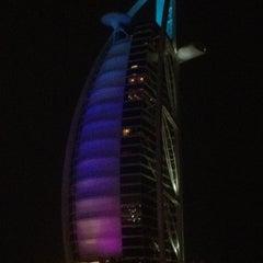 Photo taken at Jumeirah Beach Hotel فندق جميرا بيتش by Tim R. on 3/3/2012