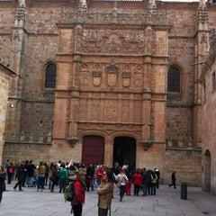 Photo taken at Fachada Universidad by Mita J. on 3/17/2012